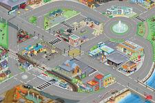 Brand New Le Toy Van Car Vehicle Road Playmat Play Mat