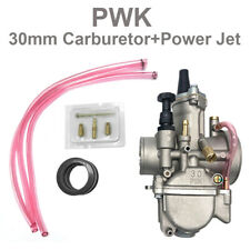 1 Pcsk 30mm High Performance Carburetor W/ Power Jet For Motorcycle Scooter ATV