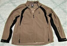 Sunice size L Typhoon Polyester Tpc Boston Zip Up Golf Jacket Olive Green