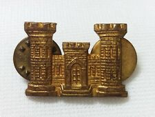 Rare K G Luke Melbourne Theater Made US Army Corps of Engineers Collar Insignia