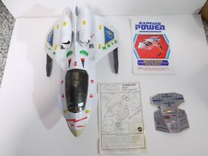 Captain Power POWERJET XT-7 Complete + Box Vintage 1987