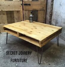 Rustic Pallet Coffee Table Upcycle Retro Furniture