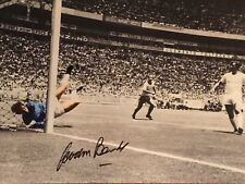 Hand Signed 16x12 photo GORDON BANKS England 1966 World Cup FOOTBALL + my COA