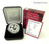 1996 30th ANNIVERSAY DECIMAL CURRENCY 1oz Silver Proof Coin