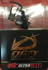 NEW QAD ULTRA PRO SERIES HDX PSE BLACK COLOR ARROW REST HD-X RIGHT HANDED