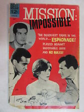 MISSION IMPOSSIBLE DELL COMIC MAY 1967 ISSUE #1 - DAMAGED CORNER REDUCED PRICE