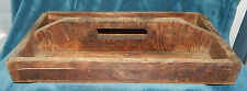 AWESOME PRIMITIVE ANTIQUE/VINTAGE WOOD TOTE BOX/TOOL CADDY!!
