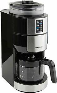 Privileg 73245330 Filter-Kaffeemaschine mit Mahlwerk 6 Tassen 820 W Silber