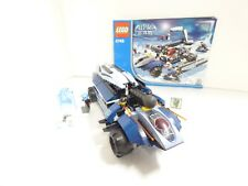 LEGO Alpha Team 4746 Mobile Command Center  With Instructions & Minifigures