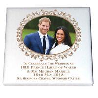 HRH Prince Harry & Ms Meghan Markle - Ceramic  Fridge Magnet