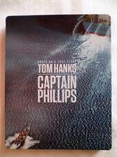 Captain Phillips - Blu-Ray - Steelbook Edition - Neuwertig