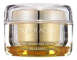 MISSHA Super Aqua Cell Renew Snail Cream. Skin Treatment
