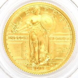 2016 Standing LIberty Gold 1/4 Quarter Ounce (oz) US MInt Centennial Coin