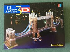 Puzz 3D Jigsaw London Tower Bridge 819 pieces (complete)