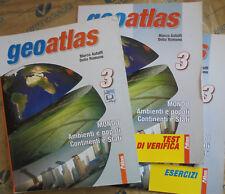 GEOATLAS VOL.3 MONDO AMBIENTI E POPOLI (IN 3 VV) PER MEDIE - ASTOLFI - ATLAS