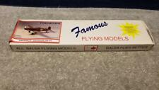 """Vintage Famous Flying Models Tomahawk Rubber Power Wood Kit 20"""" Wing Span"""