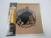 JON LORD Sarabande MWF1017 with OBI Japan VINYL  LP