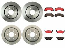 Front Rear Full Brembo Brake Kit Disc Rotors Ceramic Pads For Ford F-150 '12-'16