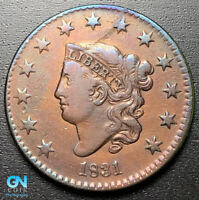 1831 Coronet Head Large Cent   --  MAKE US AN OFFER!  #G5936