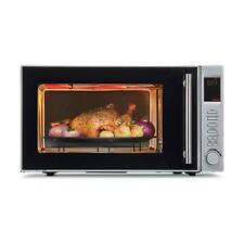 30L Digital Convection Microwave Oven 2200W Stainless Steel 10 Power Levels New