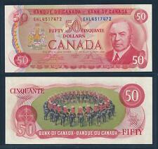 [77346] Canada 1975 50 Dollars Bank Note VF P90b