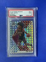 COBY WHITE 2019-20 Panini Mosaic Silver Mosaic Prizm PSA 9 Mint true rookie RC
