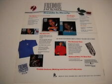 Freddie Jackson Freddie Is Ready for.everything 1988 Promo Poster Ad mint