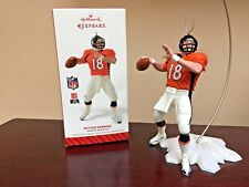 2014 Hallmark Ornament Peyton Manning  Denver Broncos