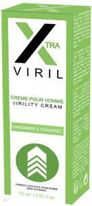 X VIRIL PENIS CARE CREAM Dry Itchy Flaky Skin Soft Improve Circulation XTRA Ruf