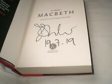 JO NESBO - Macbeth SIGNED 1/1 Hb - 2018 - HOGARTH SHAKESPEARE series book 7
