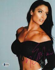 Eva Marie BAS COA Signed 8x10 Photo Autographed Total Divas WWE T43586