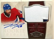 2clrs /99 PK P.K. SUBBAN ROOKIE JERSEY PATCH AUTO DOMINION 2010 10 11