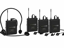 Anleon MTG-200 Wireless System 3-person Tour Group Guide Church 650-680mhz