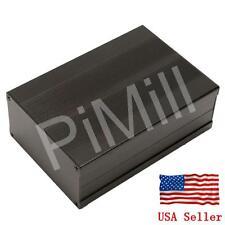 Aluminum Project Box Enclosure Case Electronic DIY 150x105x55mm Black US Stock
