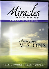 Miracles Around Us Amazing Visions NEW DVD Real Stories Real People 2 Programs