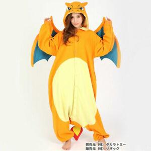 SAZAC Pokémon Charizard Fleece Costume pajamas Kigurumi Unisex Pokemon Lizardoon