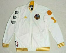 RARE ADIDAS 2015 GOLDEN STATE WARRIORS RING CEREMONY CHAMPION JACKET XL  NBA