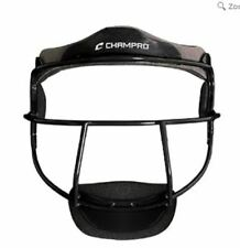 New Youth FASTPITCH SOFTBALL Adjustable Black Fielders Mask