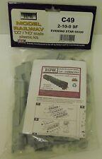Dapol OO Gauge Evening Star 9f Unpainted Plastic Kit C049