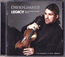David GARRETT: LEGACY BEETHOVEN Violinkonzert KREISLER Liebesleid Paganini Va CD