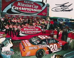 RARE! Tony Stewart autographed 2002 CHAMPION photo COA