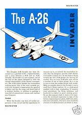 DOUGLAS A-26 INVADER  - 2 MANUALS AND A VIDEO