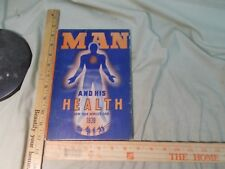 1939 New York World's Fair Man & His Health A Guide to medical / health exhibits