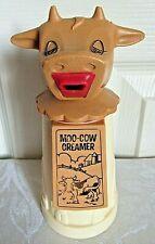 .Whirley Industries Moo Cow Plastic Creamer