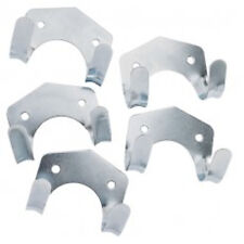 PACK OF 5 Galvanised Steel storage hooks - Ideal for garage shed tools workshops