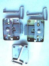 1 DDR Möbelaufschraubschloss R+L 30mm a Dorn Aufschraubschloss  Möbelschloss