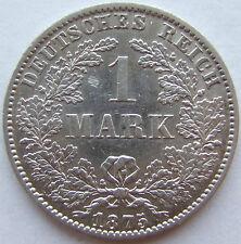 Top! 1 Mark 1875 B in eccellente RARO!!!