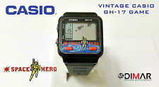 "CASIO VINTAGE GH-17 GAME ""SPACE HERO"" MODULE 920 JAPON AN 1985"