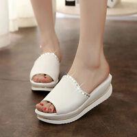 New Womens Summer Wedges Platform Flip Flops Slippers Sandals Shoes Comfort.Kit