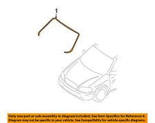 KIA OEM 02-05 Sedona Windshield-Reveal Molding 0K55263401